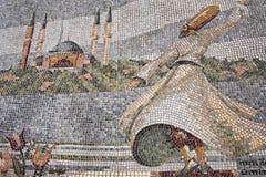 Het wervelen van Derwisjmozaïek in Istanboel royalty-vrije stock afbeeldingen