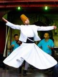 Het wervelende derwisj van Sufi Royalty-vrije Stock Fotografie