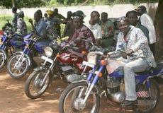 Het westen - Afrikaans vervoer Stock Fotografie