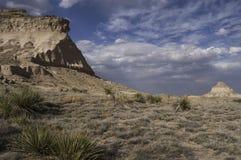 Het westen en van het Oosten Butte van Pawnee Stock Foto