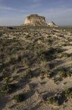 Het westen en van het Oosten Butte van Pawnee Stock Foto's
