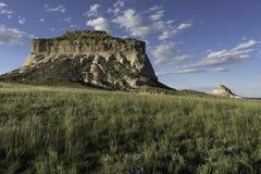 Het westen en van het Oosten Butte van Pawnee in het Noorden - oostelijk Colorado Royalty-vrije Stock Foto's