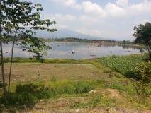 Het westen Java Landscape 7 Stock Foto's