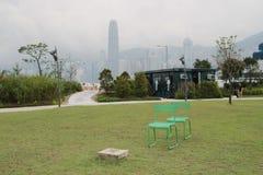 Het westen Kowloon, Hong Kong, China Royalty-vrije Stock Foto's