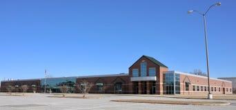 Het westen Memphis Christian School Building, West-Memphis, Arkansas stock fotografie