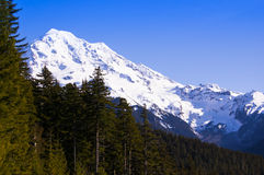 Het westen Rainier Face stock foto