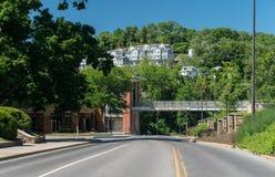 Het westen Virginia University in Morgantown WV Royalty-vrije Stock Fotografie