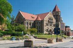 Het westen Virginia University in Morgantown WV Stock Foto
