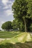 Het westen Zeeuws Vlaanderen, Nederland Royalty-vrije Stock Afbeelding