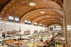 Het westen zijmarkt in Cleveland Stock Afbeelding
