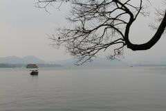 Het westenmeer in Hangzhou Royalty-vrije Stock Fotografie