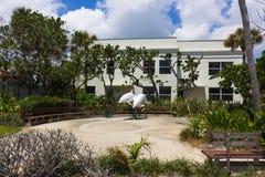 Het WESTENpalm beach, Florida -7 Mei 2018: Het centrum bij Palm Beach, Florida, Verenigde Staten royalty-vrije stock afbeeldingen