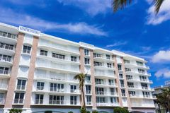 Het WESTENpalm beach, Florida -7 Mei 2018: De flats bij Palm Beach, Florida, Verenigde Staten royalty-vrije stock foto's