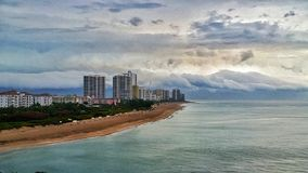 Het westenpalm beach, Miami royalty-vrije stock afbeelding
