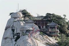 Het westenpiek in Onderstel Hua China royalty-vrije stock afbeeldingen
