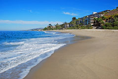 Het westenstrand, Zuidenlaguna beach, Californië Stock Foto's