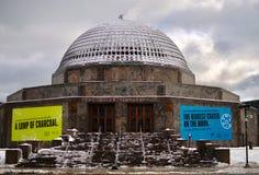 Het westenweergeven van Adler-Planetarium stock afbeeldingen