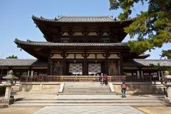 Het westenwerf van Horyuji stock foto's
