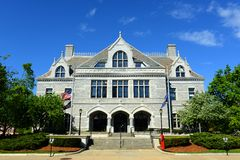 Het Wetgevende Bureau van New Hampshire, Verdrag, NH, de V.S. Royalty-vrije Stock Afbeeldingen