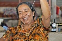 Het weven in Guatemala Royalty-vrije Stock Afbeelding