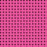 Het weven, mand Naadloos abstract patroon Stock Foto's
