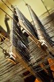 Het Wevende Weefgetouw van de hand Royalty-vrije Stock Foto's