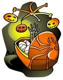 Het Wiegeliedje van Halloween royalty-vrije illustratie