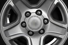 Het wiel van de auto Stock Foto