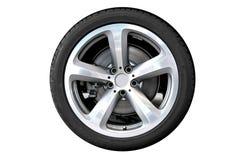 Het wiel van de auto royalty-vrije stock afbeelding