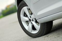 Het wiel van de auto Stock Fotografie