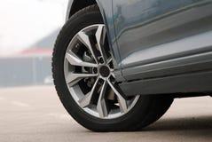 Het wiel van de auto Stock Afbeeldingen