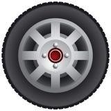 Het wiel van de auto Royalty-vrije Stock Fotografie