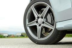 Het wiel van de auto Royalty-vrije Stock Afbeeldingen