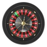 Het Wiel van de casinoroulette Stock Foto