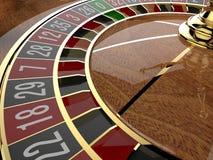 Het Wiel van de casinoroulette Royalty-vrije Stock Foto
