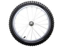 Het wiel van de fiets Stock Fotografie