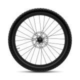 Het wiel van de fiets stock illustratie