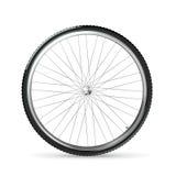 Het wiel van de fiets Stock Afbeeldingen