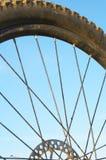 Het wiel van de fiets Royalty-vrije Stock Afbeeldingen