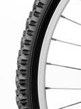 Het wiel van de fiets Stock Afbeelding