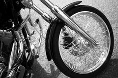 Het wiel van de fiets Royalty-vrije Stock Foto