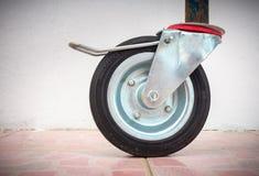 Het wiel van de gietmachinerol voor steigerplatform, Bouwhulpmiddelen Royalty-vrije Stock Afbeelding