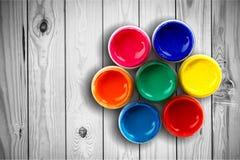 Het wiel van de kleur royalty-vrije stock afbeeldingen