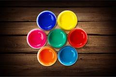 Het wiel van de kleur stock afbeeldingen