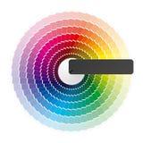 Het wiel van de kleur. Vector. Royalty-vrije Stock Foto