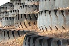 Het wiel van de mijnvrachtwagen Royalty-vrije Stock Afbeeldingen