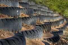 Het wiel van de mijnvrachtwagen Stock Afbeeldingen