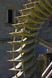 Het wiel van de molen stock afbeelding
