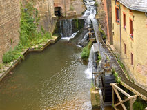 Het wiel van de molen Royalty-vrije Stock Foto