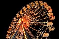 Het wiel van de nacht Royalty-vrije Stock Foto's
